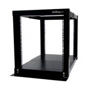 StarTech.com Rack Gabinete de Marco Abierto de 4 Postes, 12U, Tipo Bastidor ― ¡Compra y participa para ganar una base portátil para Laptop con un valor mayor a $450!