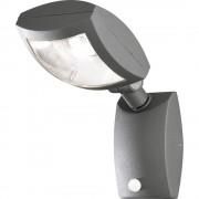LED vanjska zidna svjetiljka s alarmom pokreta 12 W toplo-bijela Konstsmide Latina Big 7938-370 antracit