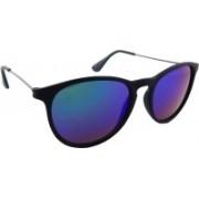 ELS Oval Sunglasses(Blue, Green)