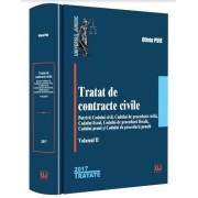 Tratat de contracte civile. Volumul II
