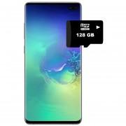 Samsung Galaxy S10+ 128GB Versión Exynos 9820-Verde + REGALO Memoria SD de128GB