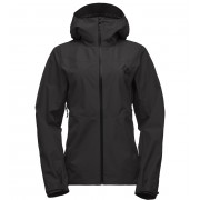 Black Diamond W Liquid Point Shell - Black - Vestes de Pluie XL