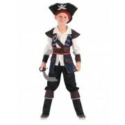Disfraz de corsario del mar niño L 10-12 años (130-140 cm)