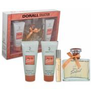 Dorall Fleur De Soleil - Set für Damen, Eau de Parfum, Body Lotion, Duschgel, Roller Ball