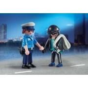 Playmobil Duo Pack Policía y Ladrón