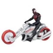 Jucarie Hasbro Spider-man Kid Arachnid With Web Chopper 15cm