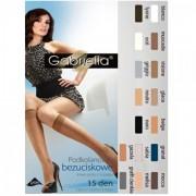 Ciorapi trei sferturi Gabriella Bezuciskowe Knee-High 15 DEN 500