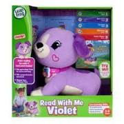 LeapFrog Catelusa Violet Citeste cu mine (limba engleza)