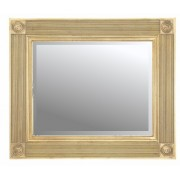 Roman Gold 36x24 Traditional Mirror