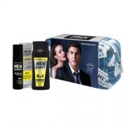 Dermacol Men Agent Total Freedom 5in1 set cadou Gel de dus 5 in 1 250 ml + Ulei de barba 4 in 1 50 ml + Borseta cosmetice pentru bărbați