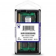 Memoria Sodimm Ddr3 Kingston 8gb 1333mhz Cl9kvr1333d3s9 8g