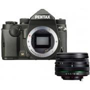 Aparat Foto D-SLR Pentax KP + 18-50mm WR, 24MP CMOS (Negru)