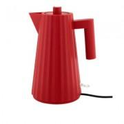ALESSI Plissé Waterkoker 1,7 l rood