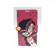 """Capa Protetora """"Flip Book Fashion Pink Bird"""" BQ Aquaris 5.0"""