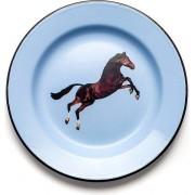 Seletti Talerz Seletti Wears Toiletpaper emaliowany Horse