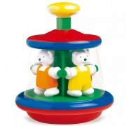Ambi Toys Humming Top Ted and Tess Carousel 3931163