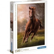 Puzzle Clementoni High Quality Collection Panorama: The Horse, 1500 piese