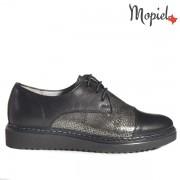 Pantofi dama din piele naturala 239403/102/Negru/Mandy