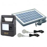 Kit Solar Incarcator Urgente cu Lanterna si 2 Becuri GdLite GD8030 6V