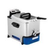 FriteuseTefal Oleoclean PRO FR 8040 INOX & DESIGN - 2300 W - Black/Stainless Steel