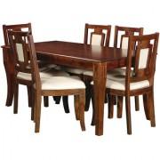 Harshita Handicraft's Dine Hard sheesham 6 Seater Dining set