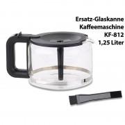 Rosenstein & Söhne Ersatz-Glaskanne für Filter-Kaffeemaschine KF-812.f, 1,25 Liter