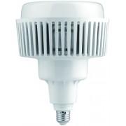 Led csarnokvilágító 100W, 8400 lumen, 130W fémhalogén izzó helyett. E27, 190 mm, 4000K, közép fehér, nem vibrál a fénye! Life Light Led 3 év garancia!