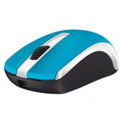 GENIUS Mouse Optico Blue Eye MH-8100 Inalambrico USB + Audifonos Azul