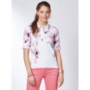 Walbusch Poloshirt Hibiskusblüte