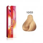 WP vopsea demi-permanenta COLOR TOUCH Pure Naturals 10/03, 60 ml