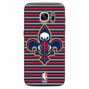 Capinha de Celular NBA New Orleans Pelicans - Samsung Galaxy S7 Edge - Unissex