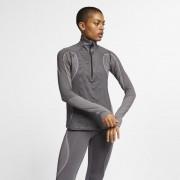 Hautà demi-zip Nike Pro HyperWarm pour Femme - Noir
