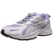 Reebok Women's Acciomax II LP Crisp Purple, White and Silver Running Shoes - 5 UK