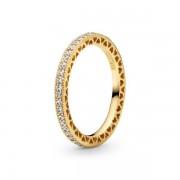 PANDORA Shine Hearts of PANDORA Ring, Ring, Zirkonia, 167076CZ-54