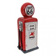 Route 66 Fuel Bowser Table Lamp