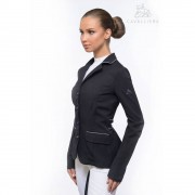 Cavalliera Riding Softshell Show Jacket Crystal Purity, Kids