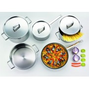 Комплект съдове за готвене от 8 части Gorenje Chef's Collection CWSA08HC