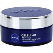 Nivea Cellular Anti-Age crema de noche rejuvenecedora 40+ 50 ml