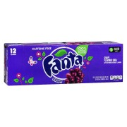 FANTA Grape Bevanda Frizzante Al Gusto Uva 12X355Ml