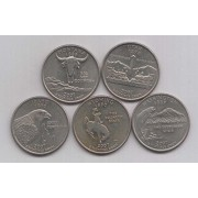 2007 State Quarters of United States of America @ Coins and Stamps