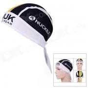 NUCKILY BD3543 Deportes al aire libre Ciclismo Headset de secado rapido - Blanco + Negro + Multicolor