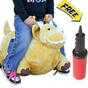 Bouncy Horse Inflatable Plush Stuffed Jurassic Dinosaur: Bounce On The Park