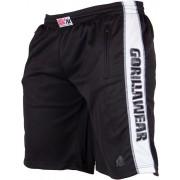 Gorilla Wear Track Shorts Black/White - XXL/XXXL