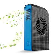 Portable Handheld Electric USB Fan Cooler with 6000mAh Power Bank Rechargeable