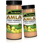 NutrActive AMLA POWDER Antioxidant Vitamin-C - 150gm (Pack of 2)