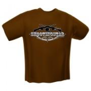 GamersWear Shooting Star T-Shirt Black (XXL)