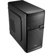 Caixa AEROCOOL QS-182 - Micro-ATX/Mini-ITX, Mini-Tower 1xUSB3.0/2 xUSB2.0, Black - QS182