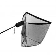 Delphin ARMADA pontyozó - bojlis merítőháló táskával, 1.8m nyéllel, 100x100cm