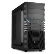 Sharkoon VG4-V - Midi-Tower Black