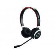 Jabra Evolve 65 UC Bluetooth Telefoonheadset Zwart, Zilver